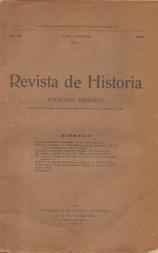 REVISTA DE HISTÓRIA-PUBLICAÇÃO TRIMESTRAL