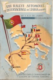 VIII RALLYE AUTOMÓVEL INTERNACIONAL DE LISBOA(ESTORIL)-REGULAMENTO
