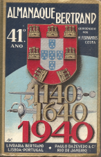ALMANAQUE BERTRAND-1940