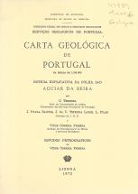 CARTA GEOLÓGICA DE PORTUGAL-NOTÍCIA EXPLICATIVA DE AGUIAR DA BEIRA