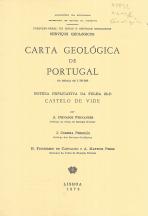 CARTA GEOLÓGICA DE PORTUGAL-NOTÍCI EXPLICATIVA DE CASTELO DE VIDE