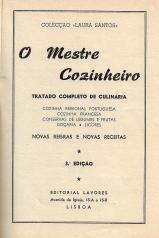 MESTRE COZINHEIRO (COLECÇÃO LAURA SANTOS)