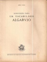 SUBSÍDIOS PARA UM VOCABULÁRIO ALGARVIO