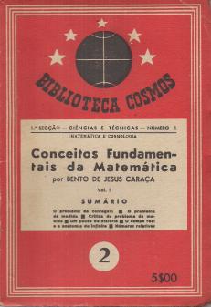 CONCEITOS FUNDAMENTAIS DA MATEMÁTICA -