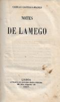 NOITES DE LAMEGO