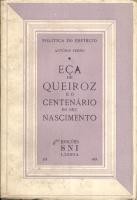 EÇA DE QUEIROZ E O CENTENÁRIO DO SEU NASCIMENTO