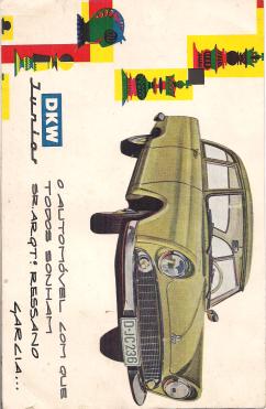 DKW JUNIOR - FOLHETO PROMOCIONAL