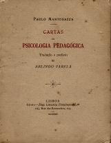 CARTAS DE PSICOLOGIA PEDAGÓGICA