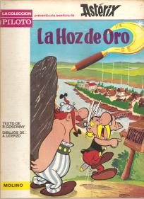 UNA AVENTURA DE ASTERIX-LA HOZ DE ORO