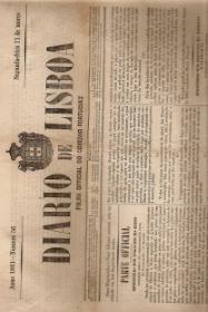 DIÁRIO DE LISBOA-FOLHA OFFICIAL DO GOVERNO PORTUGUEZ