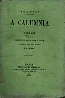 A CALUMNIA