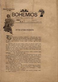 BOHEMIOS-PUBLICAÇÃO MENSAL DE LITTERATURA E ARTE