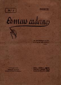 OS MEUS CADERNOS-PUBLICAÇÃO QUINZENAL