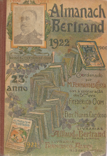 ALMANAQUE BERTRAND-1922