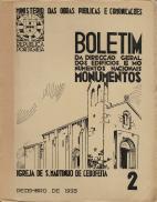 BOLETIM DA DIRECÇÃO GERAL DOS EDIFICIOS E MONUMENTOS NACIONAIS
