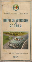MAPA DE ESTRADAS DE ANGOLA