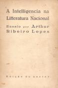 A INTELLIGENCIA NA LITERATURA NACIONAL