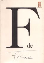 F DE FIAMA (NOVE BIOGRAFIAS) ANTOLOGIA PRÓPRIA