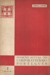 POSIÇÃO ACTUAL DO CORPORATIVISMO PORTUGUÊS