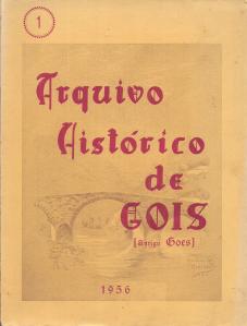 ARQUIVO HISTORICO DE GOIS (ANTIGO GOES)
