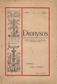 DIONYSOS-REVISTA MENSAL DE PHILOSOPHIA, SCIENCIA E ARTE
