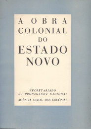 A OBRA COLONIAL DO ESTADO NOVO