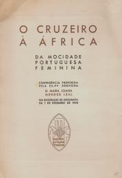 O CRUZEIRO À ÁFRICA DA MOCIDADE PORTUGUESA FEMININA