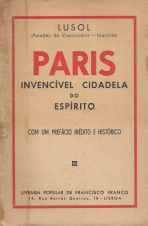 PARIS-INVENCÍVEL CIDADELA DO ESPÍRITO