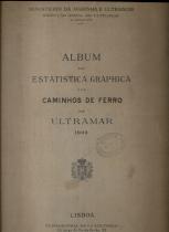 ALBUM DE ESTATISTICA GRAPHICA DOS CAMINHOS DE FERRO DO ULTRAMAR