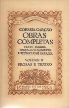 CORREIA GARÇÃO-OBRAS COMPLETAS