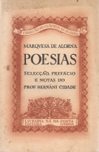 MARQUESA DE ALORNA-POESIAS