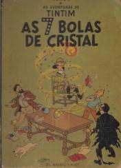 AVENTURAS DE TINTIM - AS SETE BOLAS DE CRISTAL