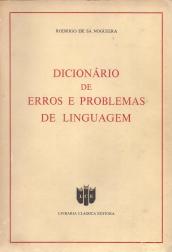 DICIONÁRIO DE ERROS E PROBLEMAS DE LINGUAGEM