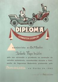 DIPLOMA DE CONDUTOR EXEMPLAR