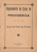 REGULAMENTO DA CAIXA DE PREVIDÊNCIA DA CASA DO POVO DO PINHÃO