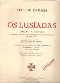 FASCÍCULO ESPÉCIME DA EDIÇÃO DE «OS LUSÍADAS» COMEMORATIVA DO 3º CENTENÁRIO DA RESTAURAÇÃO DE PORTUGAL