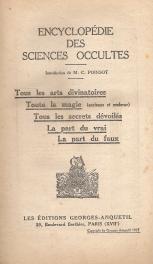 ENCYCLOPÉDIE DES SCIENCES OCCULTES