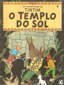 AS AVENTURAS DE TINTIM - O TEMPLO DO SOL