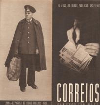 15 ANOS DE OBRAS PÚBLICAS (1932-1947) - CORREIOS-ADMINISTRAÇÃO GERAL DOS CTT