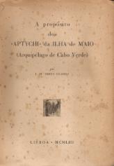 A PROPÓSITO DOS «APTYCHI» DA ILHA DE MAIO (ARQUIPÉLAGO DE CABO VERDE)