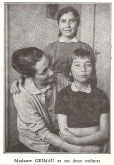 POSTAL COM A FAMÍLIA DO MILITANTE COMUNISTA ESPANHOL, JULIAN GRIMAU, MANDADO FUZILAR PELO GENERALÍSSIMO FRANCO NO ANO DE 1963