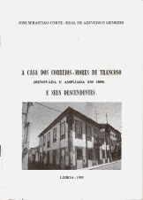 A CASA DOS CORREIOS-MORES DE TRANCOSO (RENOVADA E AMPLIADA EM 1890)