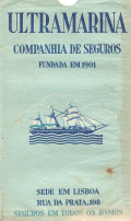 CARTA COROGRÁFICA DE PORTUGAL «ULTRAMARINA»