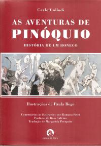 AS AVENTURAS DE PINÓQUIO - HISTÓRIA DE UM BONECO
