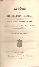LIÇÕES DE PHILOSOPHIA CHIMICA