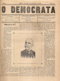 O DEMOCRATA - PUBLICAÇÃO SEMANAL