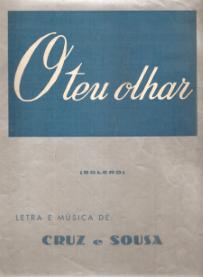O TEU OLHAR-BOLERO - PARTITURA