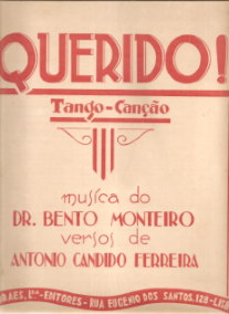 QUERIDO!-TANGO-CANÇÃO - PARTITURA