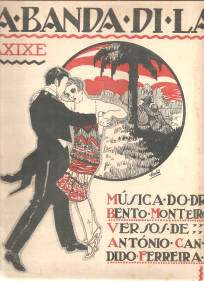 DA BANDA DI LÁ - MAXIXE - PARTITURA