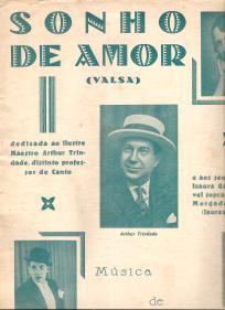 SONHO DE AMOR-VALSA - PARTITURA